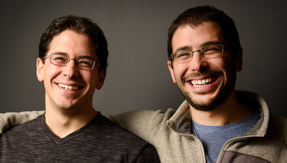 Co-founders David & Brett Kopf